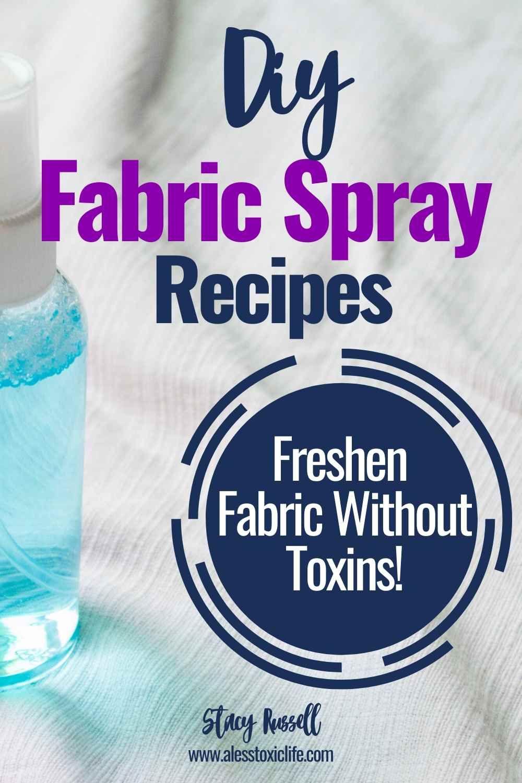 Easy homemade disinfectant spray for fabric homemade