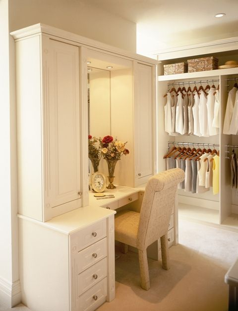 """The perfect """"getting ready"""" area"""