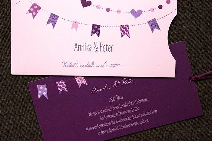 Besondere Einladungskarten Zur Hochzeit