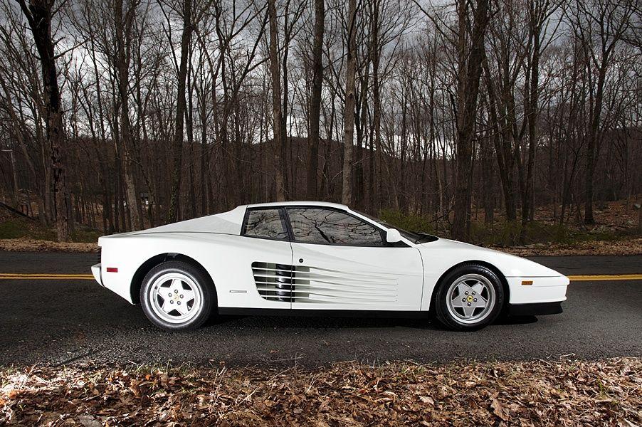 1989 Ferrari Testarossa, Miami Vice Car here is a vid clip http://www.youtube.com/watch?v=SbWw8eecpPg