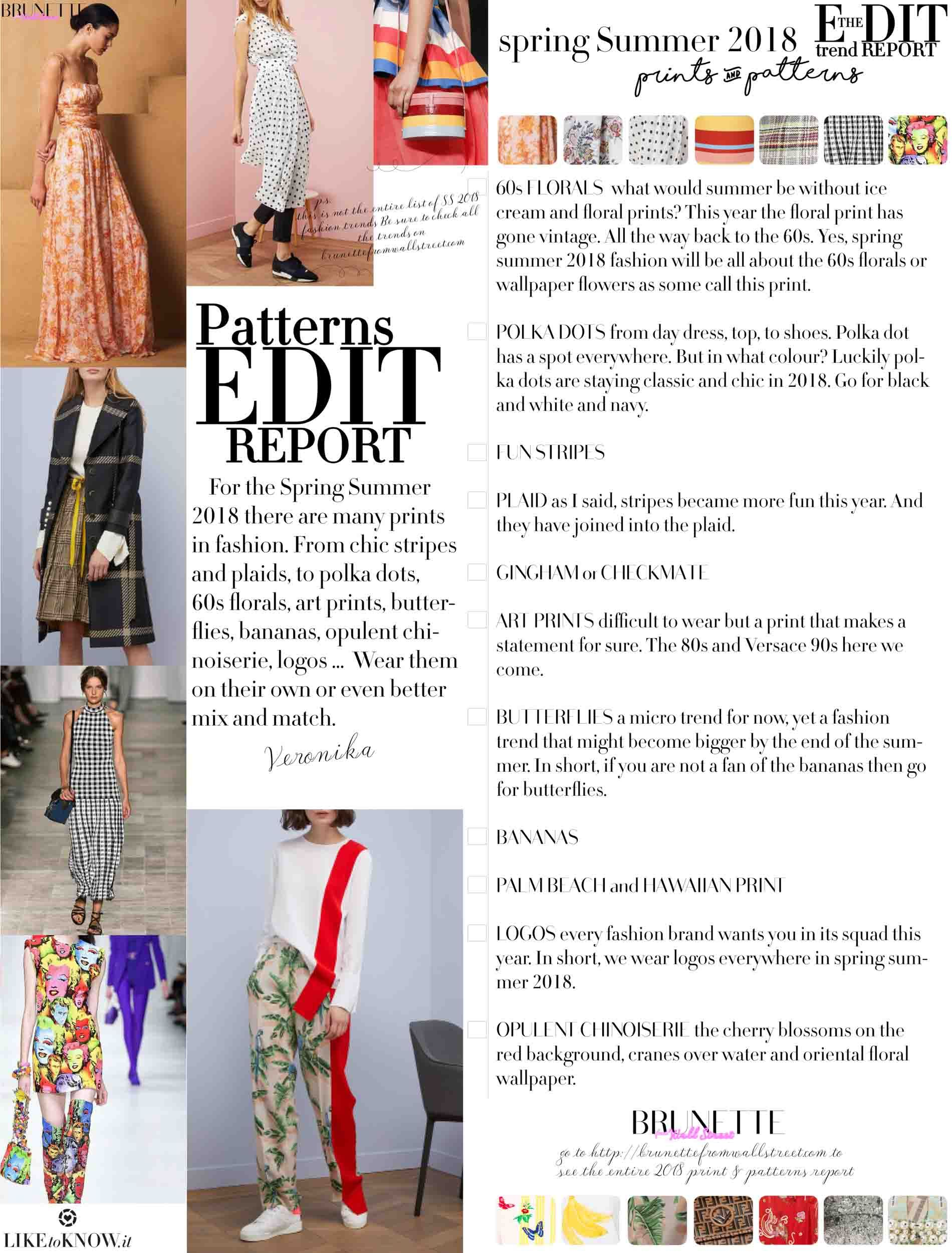 Spring Summer 2018 Fashion Trends Fashion Pinterest Fashion