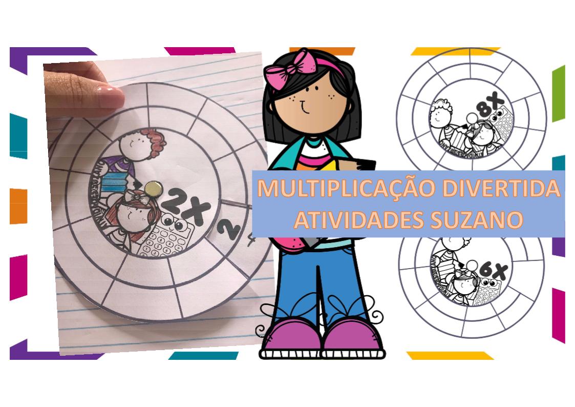 Atividade De Matematica Multiplicacao Em Rodas