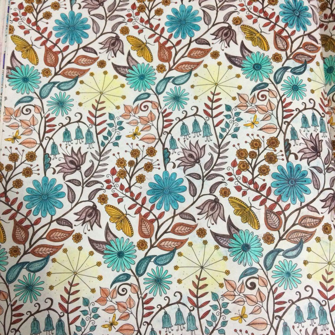 Johanna basford jardim secreto mandalas pinterest for El jardin secreto johanna basford