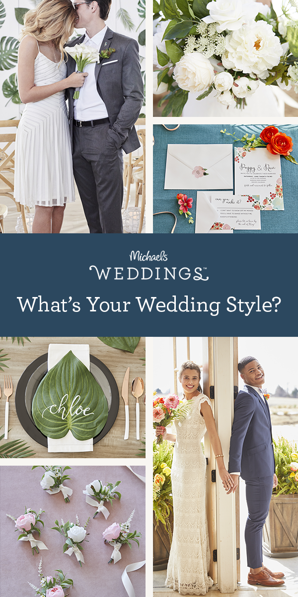 Not sure where to start on creating your overall wedding style? Take our Wedding Quiz and get ...