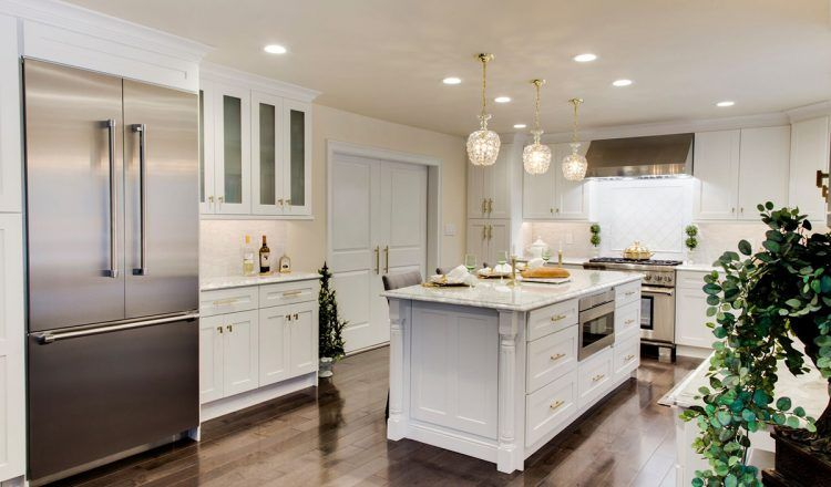 Dove White Shaker Preview A Kitchen Inspirations Cabinet Outlet Kitchen
