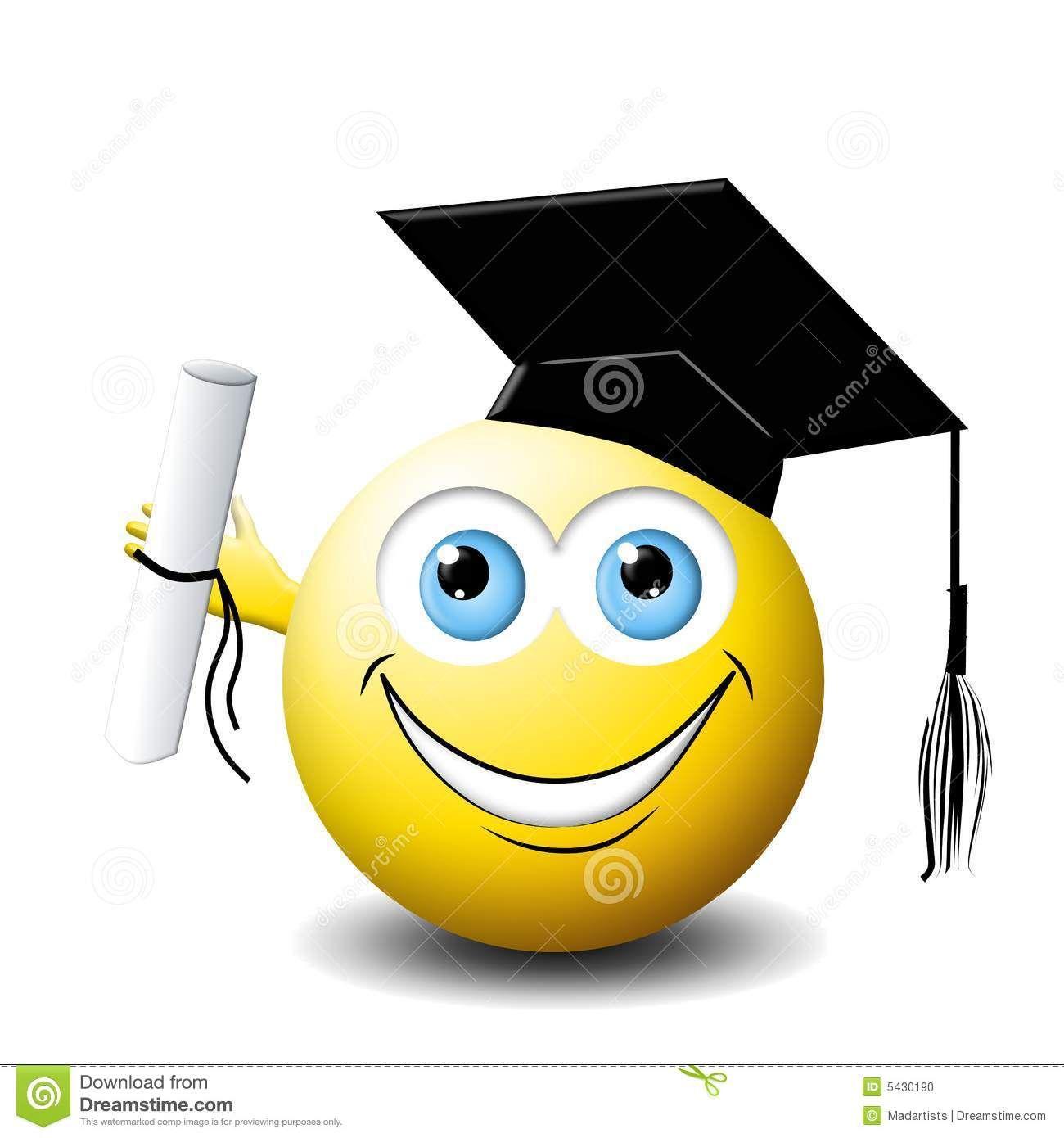 Smiley Face Graduate Smiley Face Smiley Emoji Image