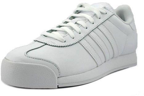 adidas uomini bianchi / cool grey samoa (black caviglia alta