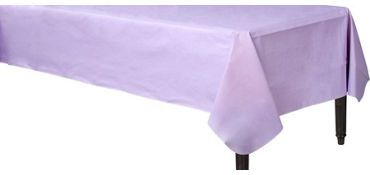 Lavender Flannel Backed Vinyl Tablecloth Tablecloth Fabric Plastic Table Covers Vinyl Tablecloth