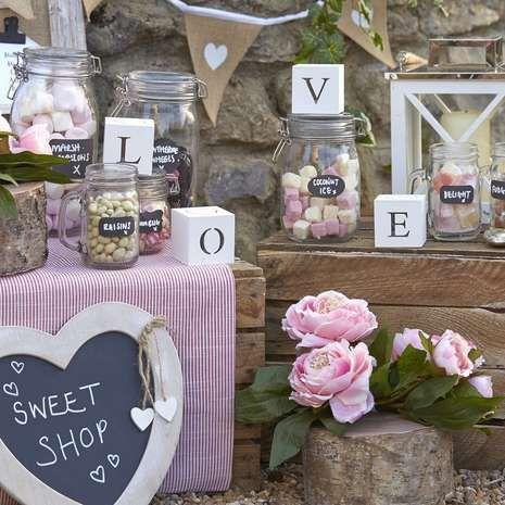 Vintage wedding collection dunelm wedding chalkboards vintage wedding collection dunelm wedding venue decorationstable junglespirit Images
