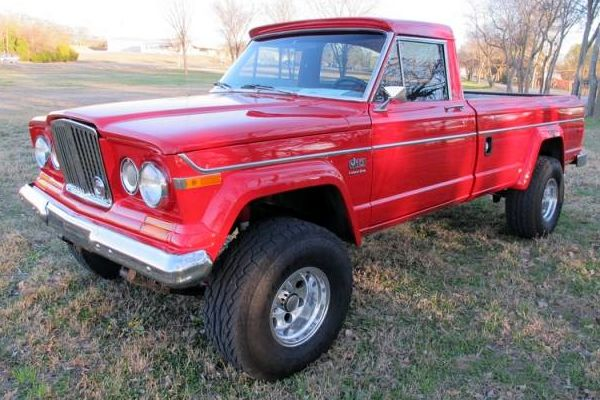 1979 Jeep J10 With Kaiser Grill  Awesome