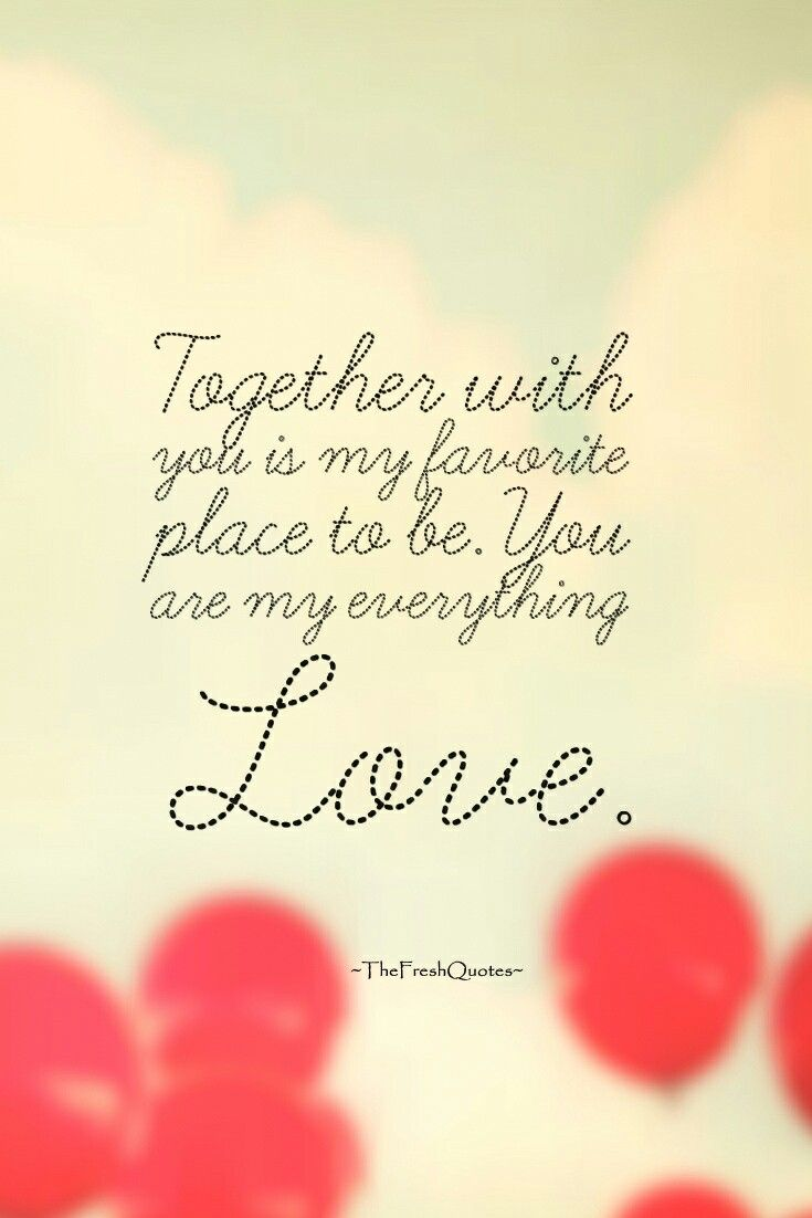 You Are My Everything Babe Con Imagenes Frases De Amor