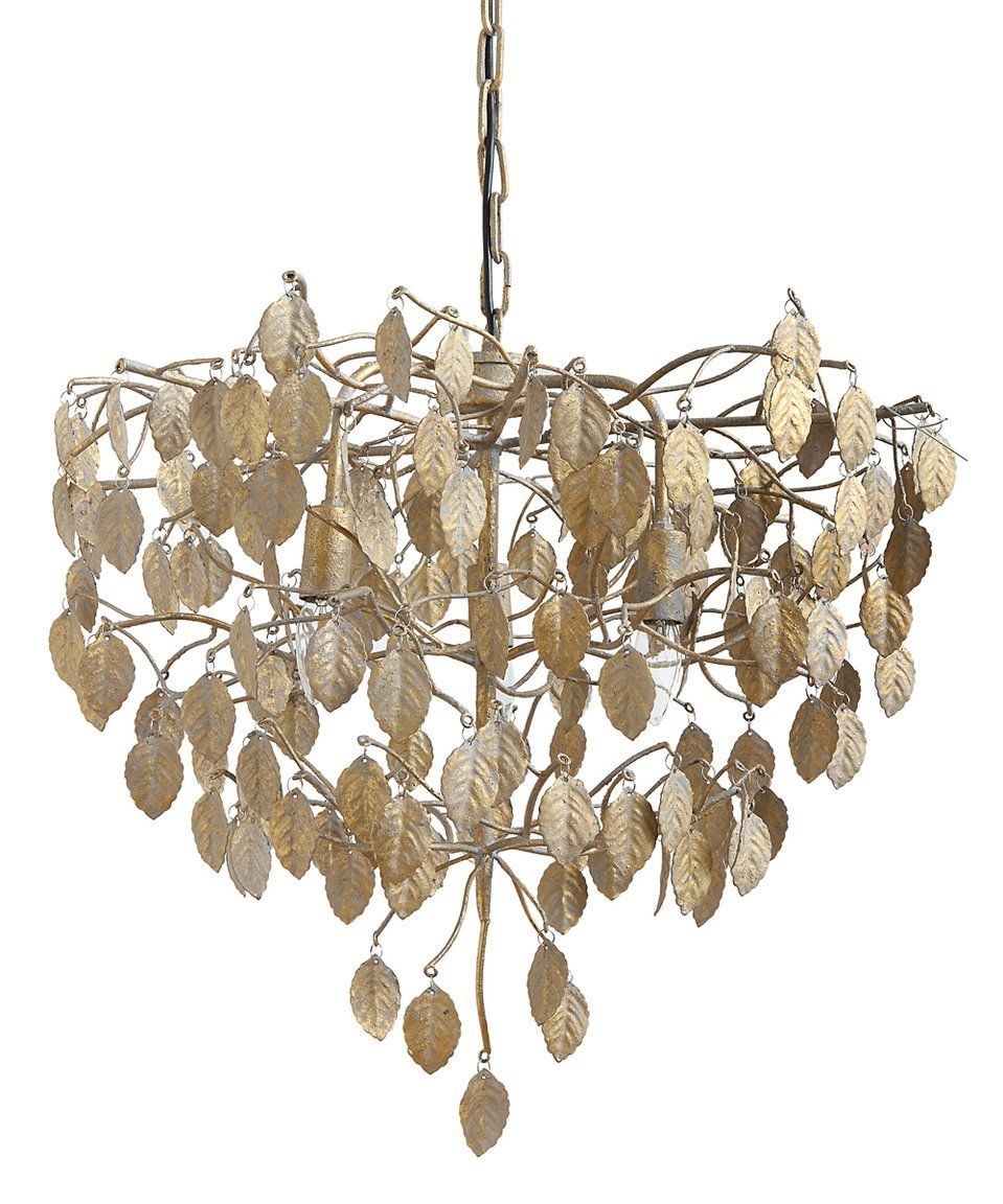 Take a look at this gold metal leaf chandelier today makes my take a look at this gold metal leaf chandelier today arubaitofo Images