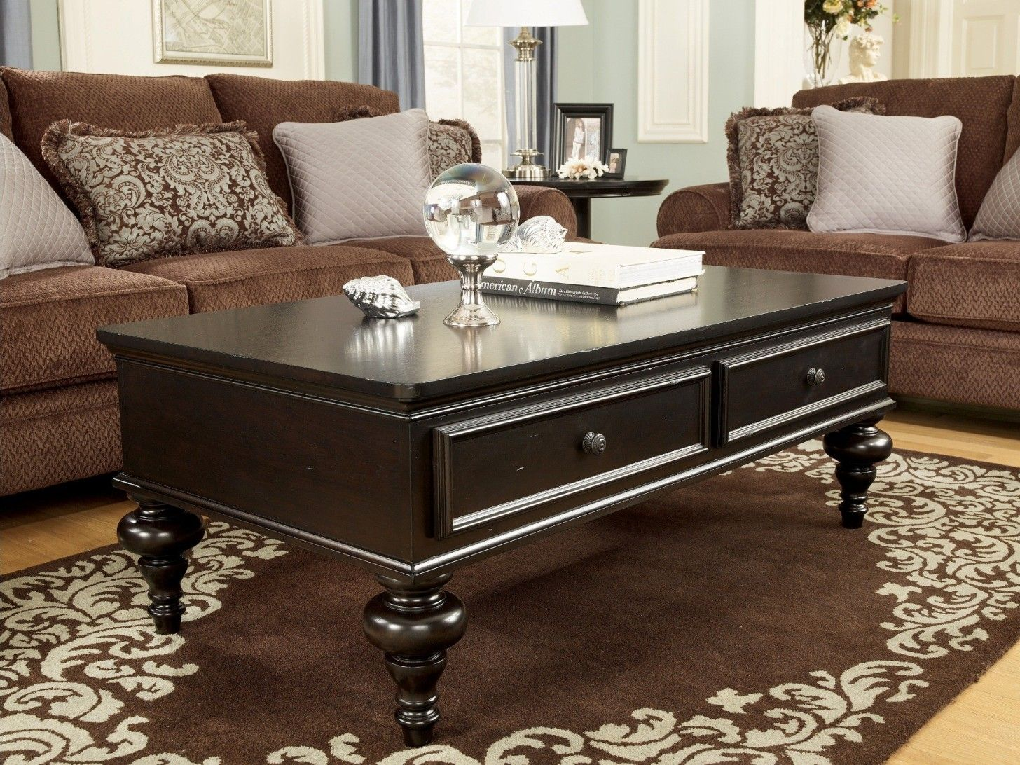 12 dark wood coffee tables ideas