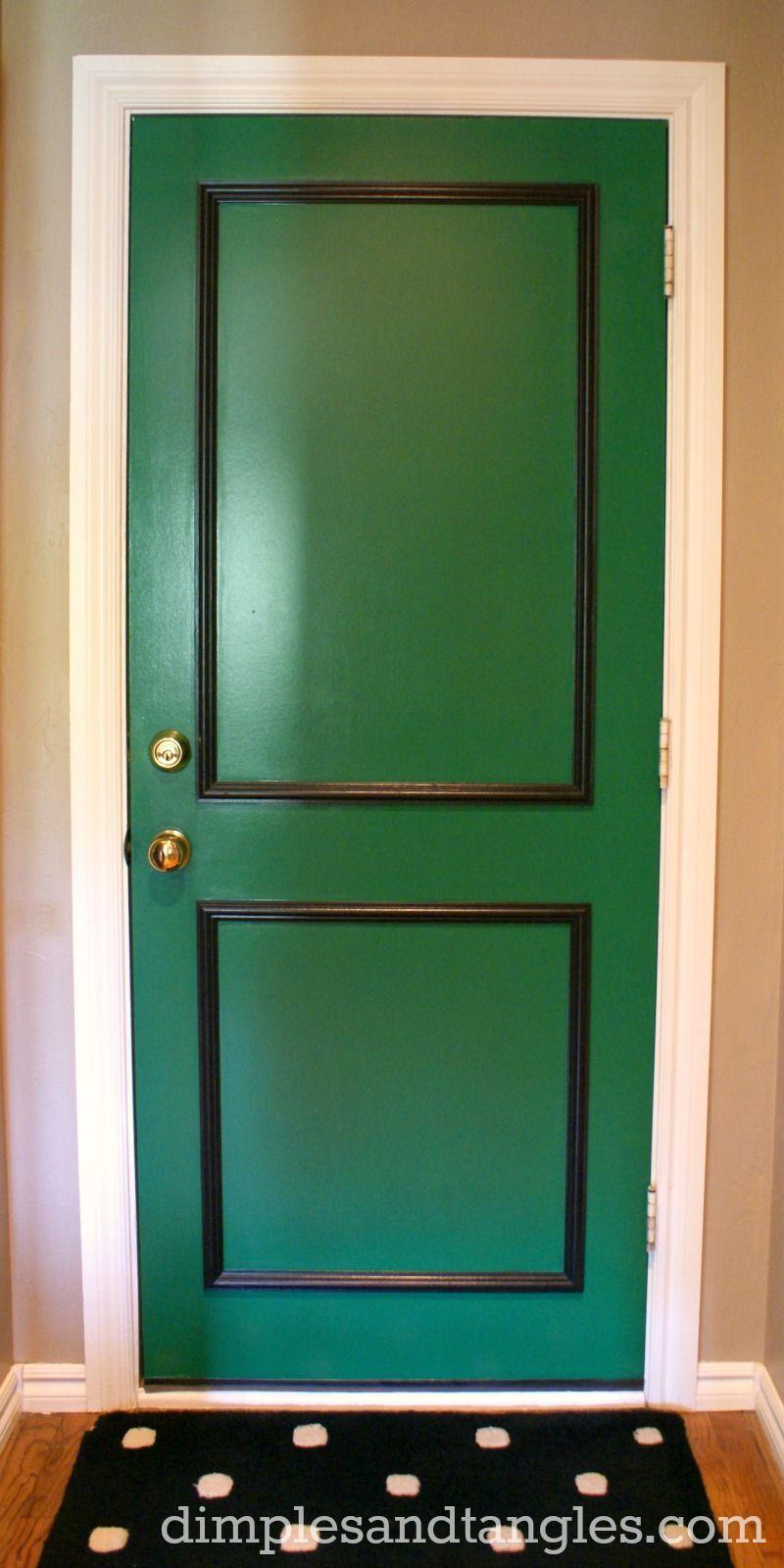Dimples And Tangles A Little Back Door Fun My Paint Color Door Design Interior Cool Doors Back Doors