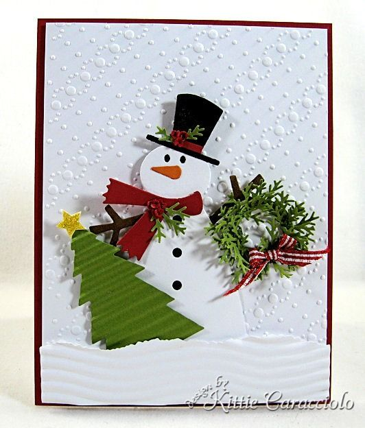 the snowman card making ideas