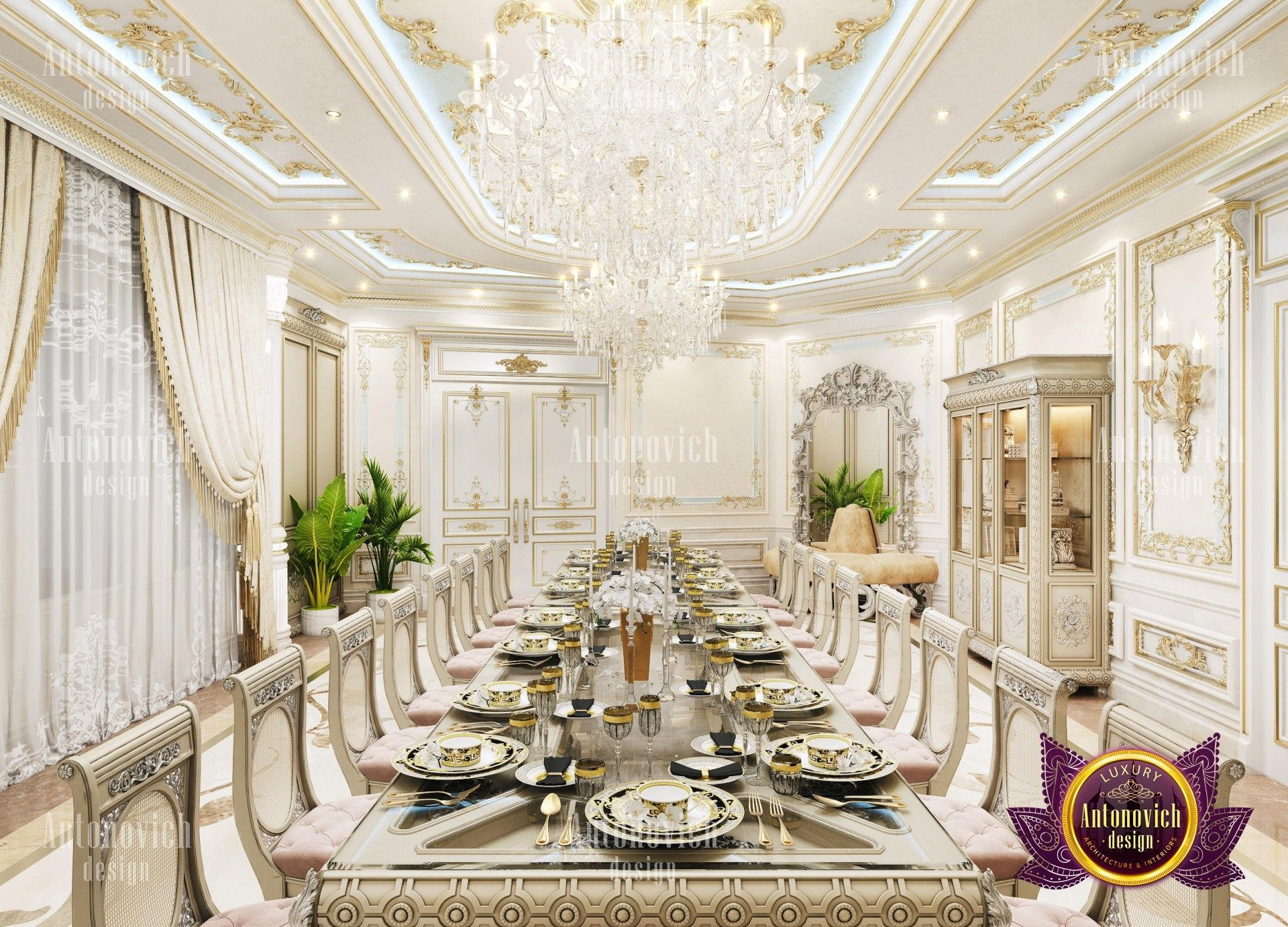 Exclusive Dining Room In Uae Favorite Concept Design Of All Time