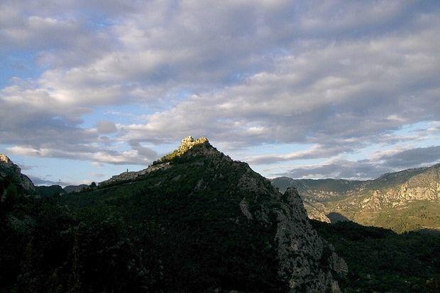 Sainte-Agnès, vue sur la mer