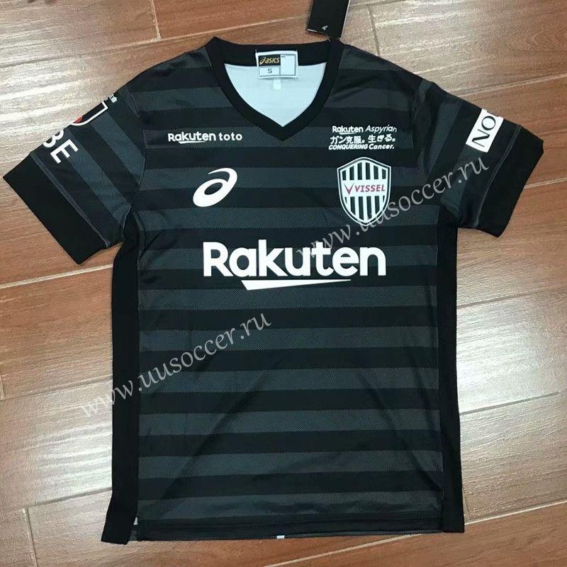 2019-2020 Vissel Kobe 2nd Away Black Thailand Soccer Jersey AAA ...