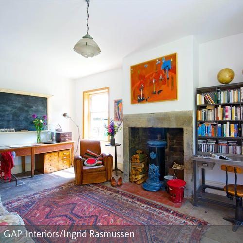 wohnzimmer gestalten wie ein atelier | atelier, retro und oder - Wohnzimmer Retro Style