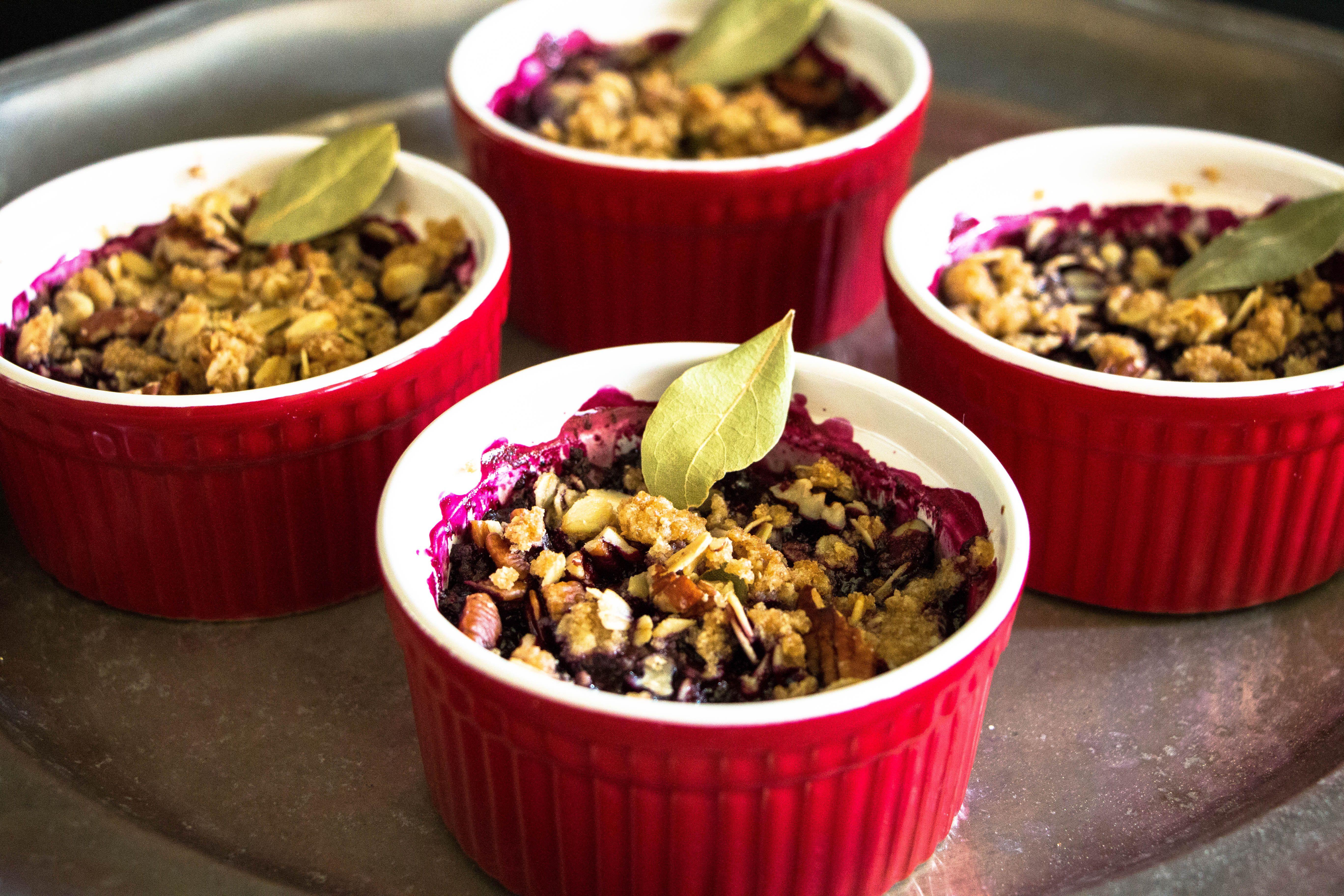 Fruits Love Herbs + Blueberry and Bay Crisp Recipe Crisp