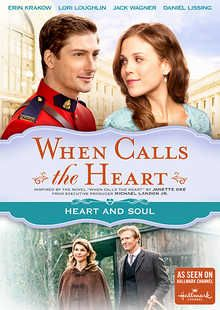 """From celebrated author Janette Oke (The Love Comes Softly series) comes a rigorous and romantic adventure as epic as the wide frontier. Erin Krakow (Army Wives), Daniel Lissing (Eye Candy) and Lori Loughlin (Full House, 90210) star in When Calls The Heart, """"a beautiful story with roots in relationships, self-empowerment, and the enduring power of love"""" (Common Sense Media)."""