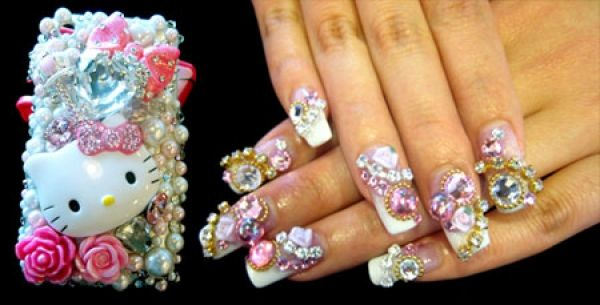 Tokyo Crazy Nail Art   ... nails that have taken Tokyo by storm are now clawing at the local