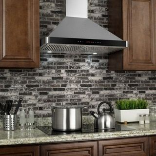 AKDY 30 Inch Wall Mount Stainless Steel Kitchen Vent Range Hood   17599369