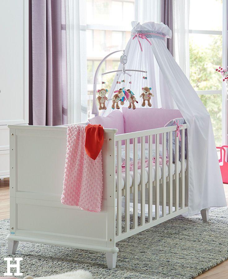 Babybett im Landhausstil. Für den stillvollheimeligen