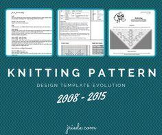 creating knitting patterns day 12 knitting pattern templates