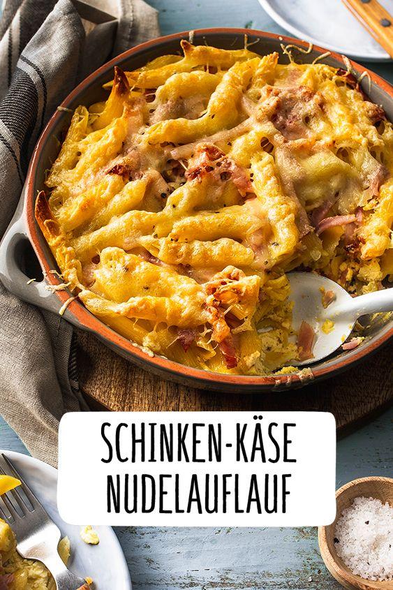 Photo of Ham and cheese pasta bake