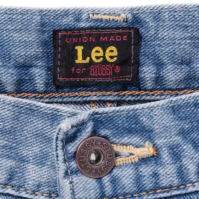 #stussy #lee #jeans