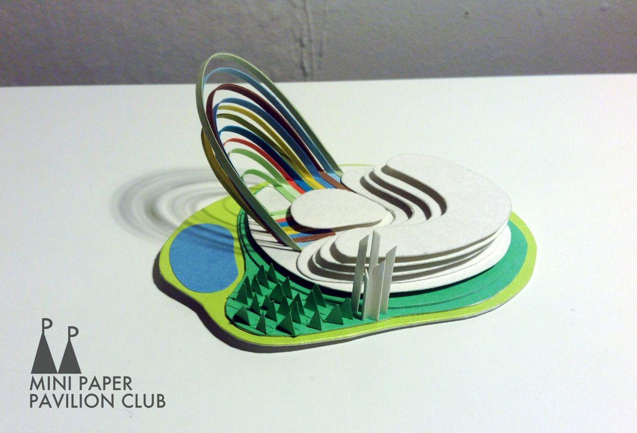 model / paper / architecture / pavilion / miniature ... - photo#10