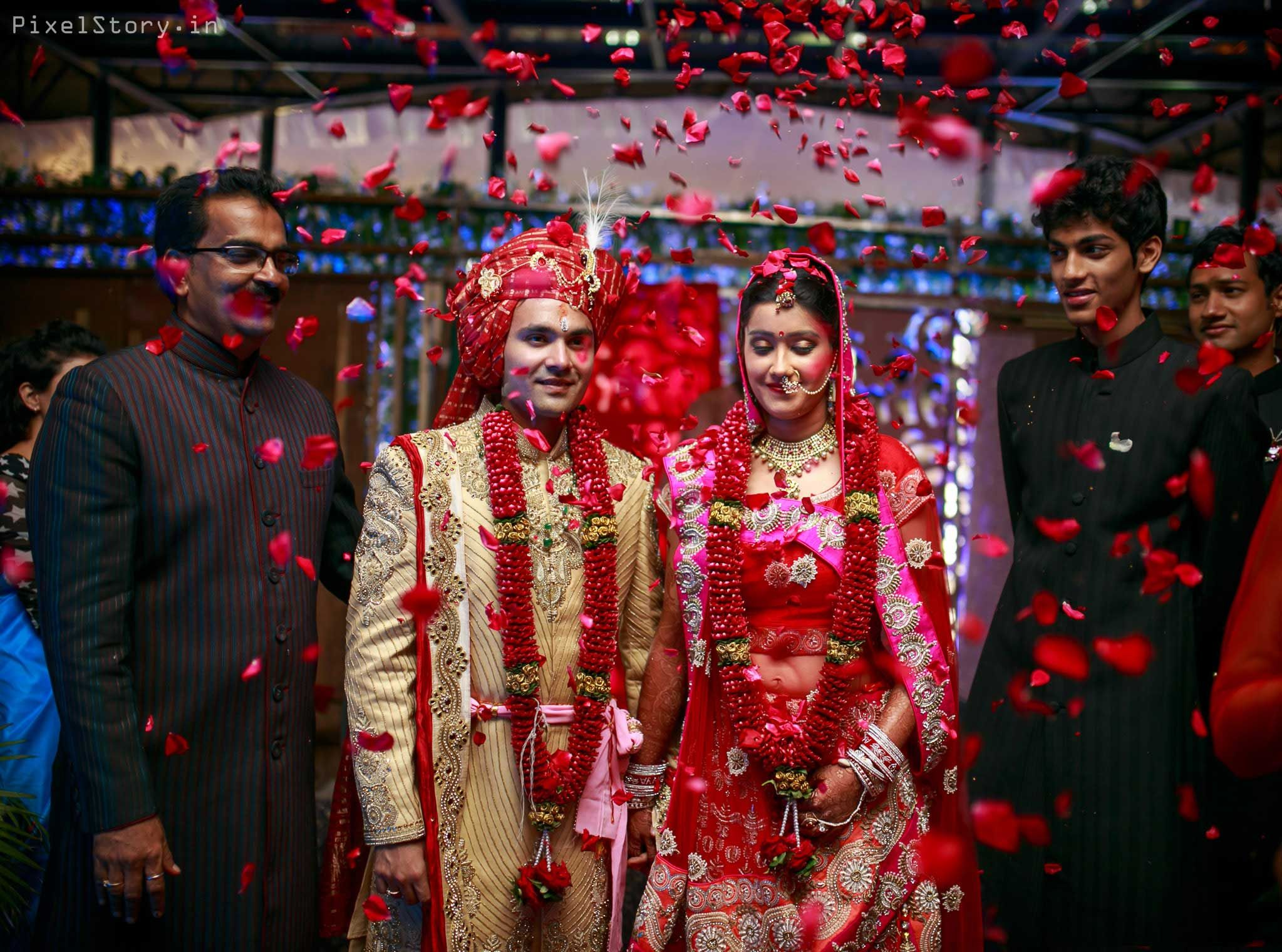 Real Indian Weddings: A Stunning Arranged Marriage Filled