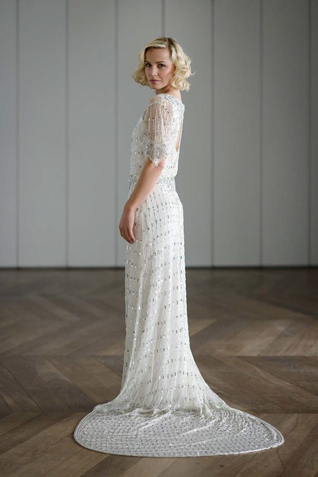 art nouveau wedding dress. art deco glitter: vicky rowe wedding dresses nouveau dress