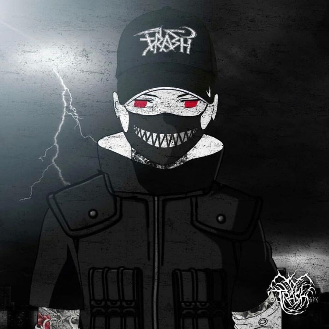 TRASH GANG アートクラブ Art By @trashgfx