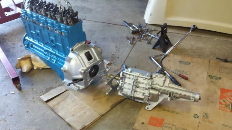 IMG] | 1954 Chevy Truck T-5 Transmission Swap | 1954 chevy truck