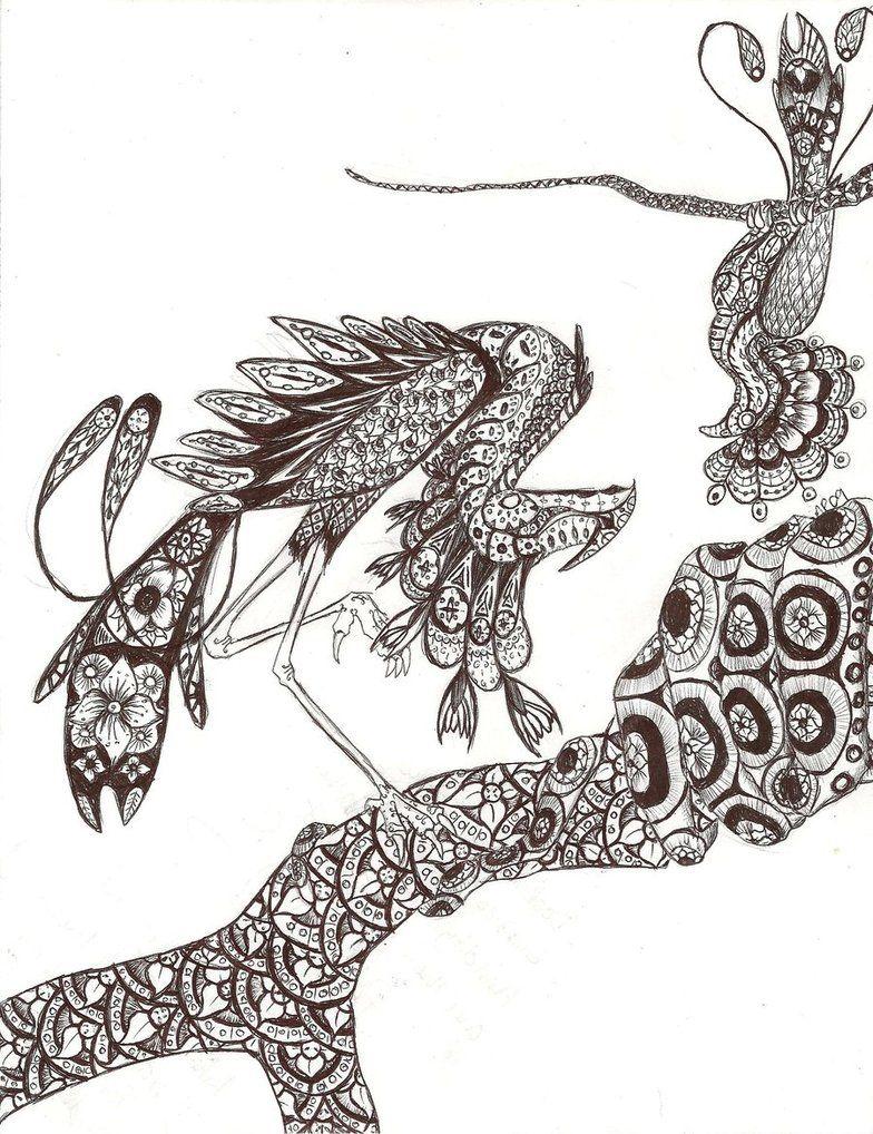 Bird Henna Tattoo Designs: Henna Bird Design