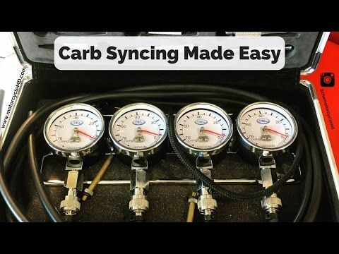Carb Syncing: How to Fine Tune Your Carburetors - YouTube