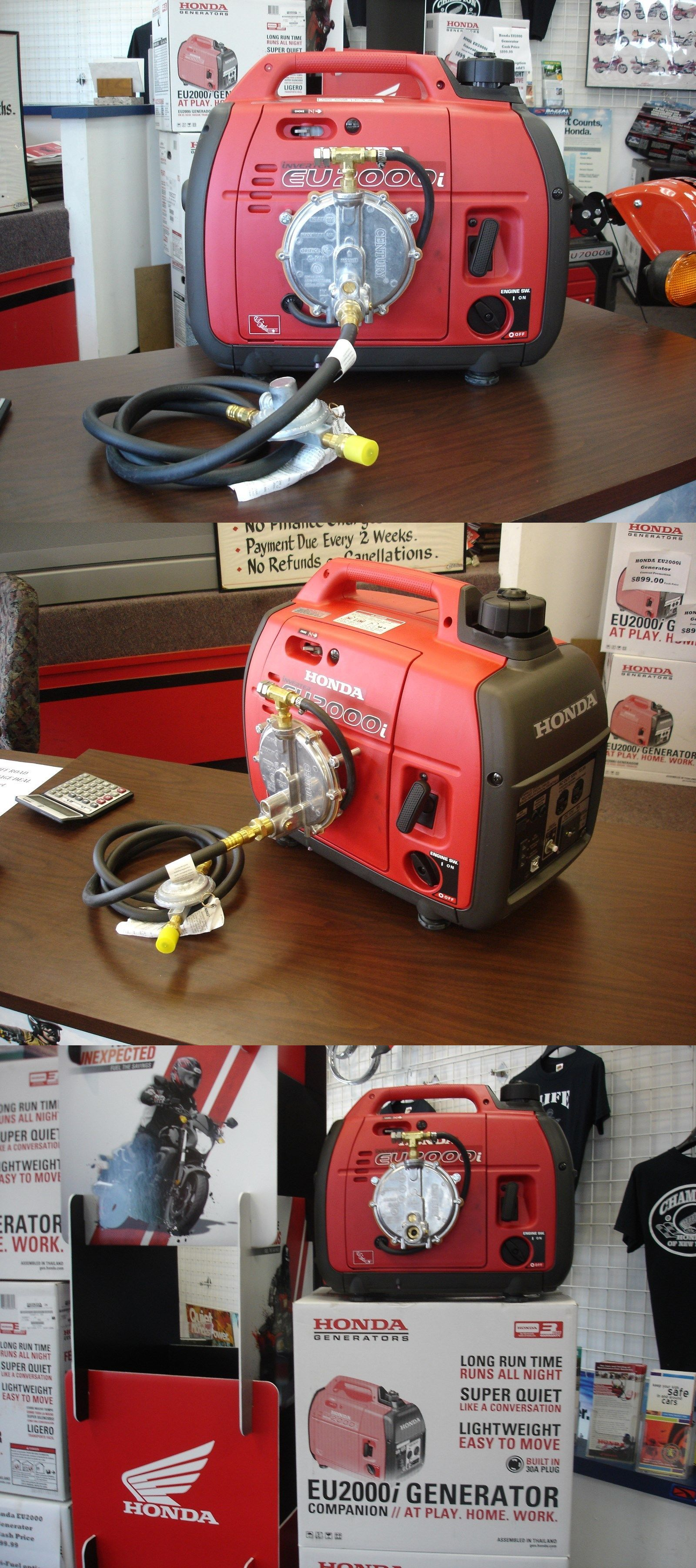 Other Home Automation Brand New Honda Eu2000i Generator With Tri