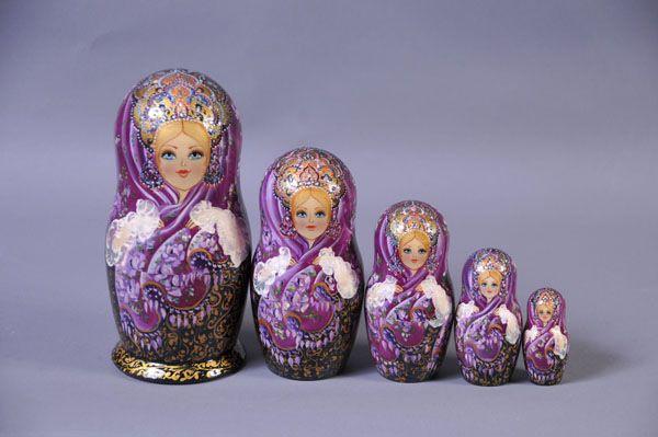 Gallery.ru / Фото #1 - Эксклюзивные матрёшки - Markara ...