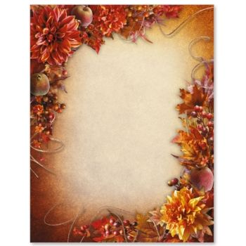 Vintage Fall Border Papers Vintage fall, Microsoft word and - background templates for microsoft word