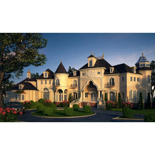 French Country Plans, French Chateau And Clasical Castle Floor Plans.... ❤