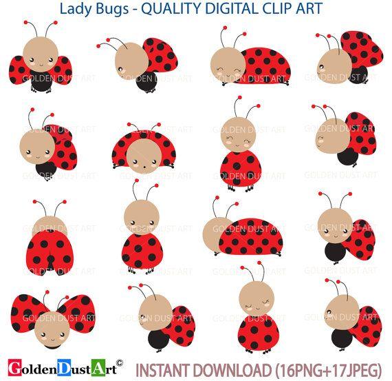 Mariquita Clip Art Clipart De Mariquita Mariquita Digital Lady Bug
