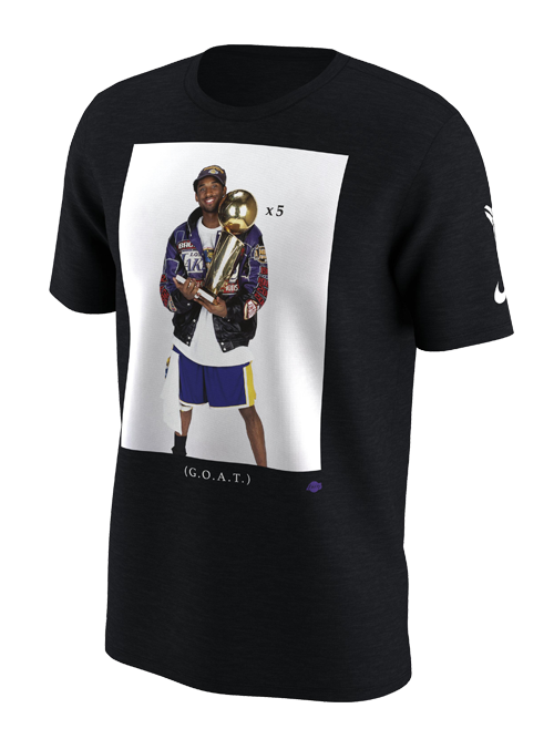 c6fcf27ec96 Kobe Bryant Trophy Photo T-Shirt – Lakers Store