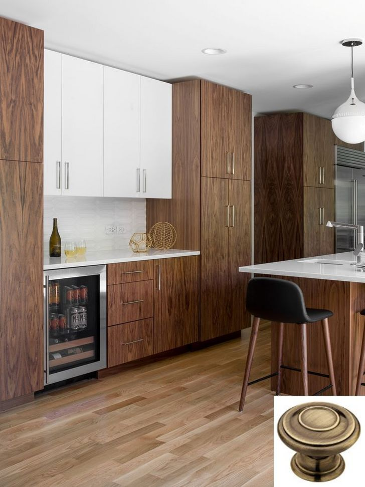 Dark, light, oak, maple, cherry cabinetry and wood kitchen cabinets how to … | Modern kitchen ...