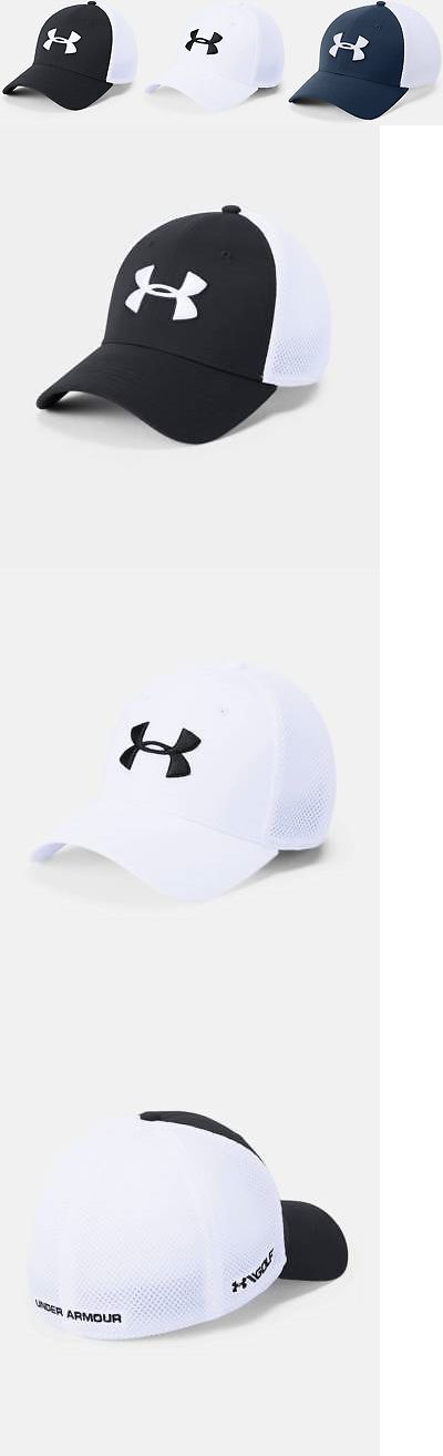 e12cef54e89 Hats 52365  Under Armour Men S Ua Threadborne Classic Mesh Golf Cap Stretch  Flex Fit Cap Hat -  BUY IT NOW ONLY   24.99 on  eBay  under  armour   threadborne ...