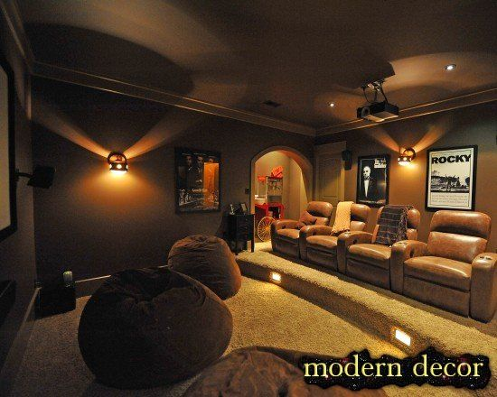 35 Modern Media Room Designs That Will Blow You Away Media Room Design Modern Media Room Design At Home Movie Theater