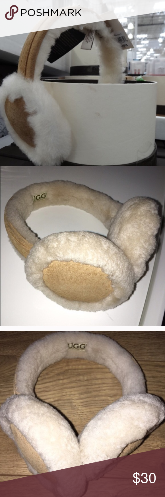 UGG EARMUFFS super cute only worn handful of times great condition UGG Accessories