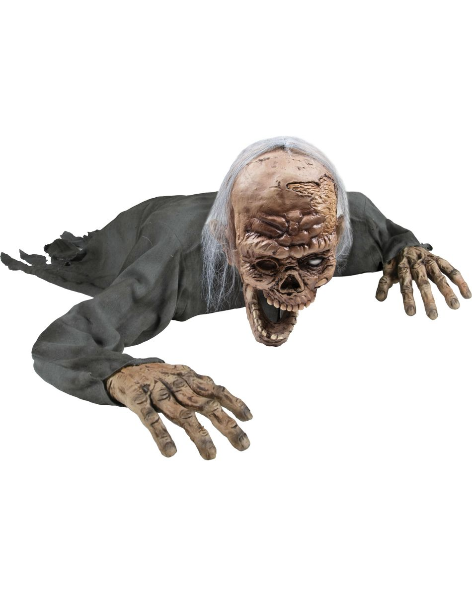 Crawling Zombie Animated Prop | Build A Haunt | Pinterest | Scary ...