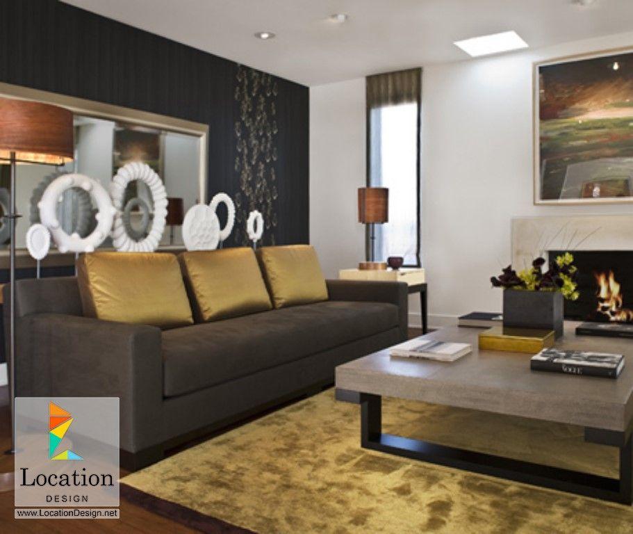 ديكورات غرف جلوس مودرن لوكشين ديزين نت Contemporary Living Room Design Interior Design Living Room Modern Contemporary Interior Design Living Room